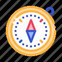 alpinism, compass, course, detector, tool