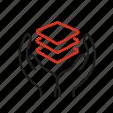 benevolence, generosity, hand, obtain, service icon