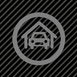 amenities, car, carparking, parking icon