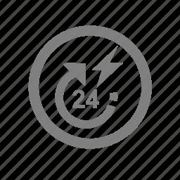 amenities, hotel, power, powerbackup icon