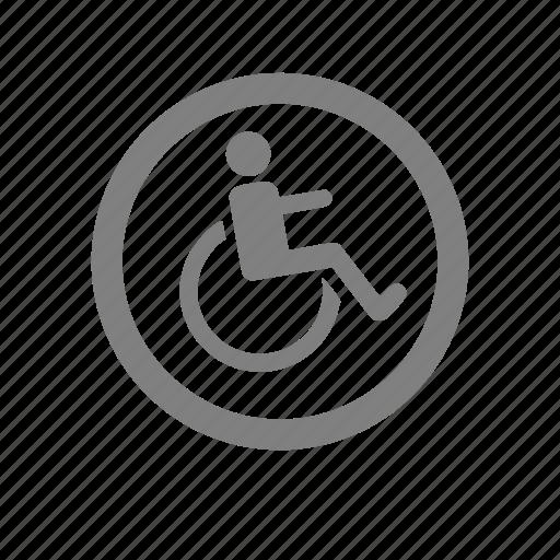 amenities, hotel, wheel chair, wheelchair icon