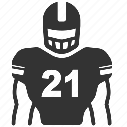 american football, football, gridiron, man, player, rugby, sport icon