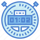 interface, stopwatch, time, wait icon