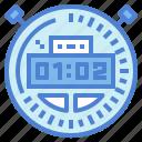 interface, stopwatch, time, wait
