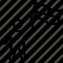 checkered flag, match winner, race winner, racing flag, start racing icon