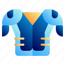 american, armor protector, football, football club, soccer, sport, uniform icon