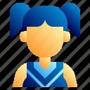 american, cheerleader, football, football club, soccer, sport, supporter icon