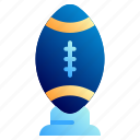 american, football, football club, free kick, rugby ball, soccer, sport icon