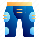 american, football, football club, protection, short pant, soccer, sport icon