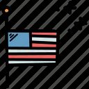 america, celebrate, day, memorial, usa icon