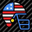 america, american football, football, gear, helmet, sport, usa