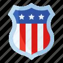 america, badge, emblem, route 66, shield, usa