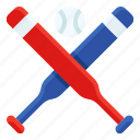 america, ball, baseball, baseball bat, sport