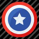 america, circle, shield, usa