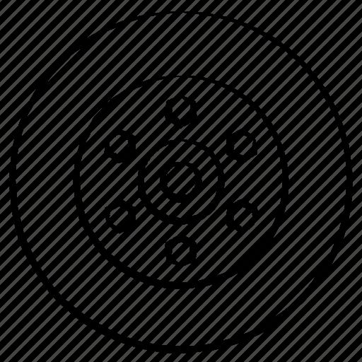 rim, round, vehicle, wheel icon