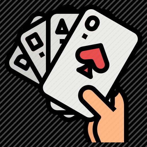 card, casino, gambling, gaming, poker icon