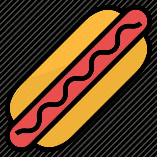 food, hotdog, restaurant, sandwich, sausage icon