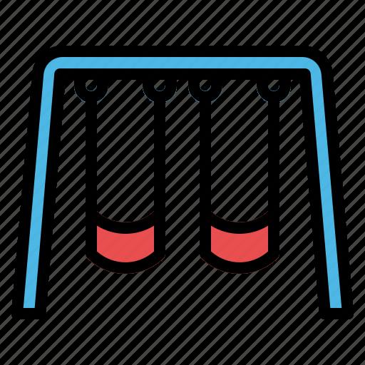 Kids, leisure, park, playground, swing icon - Download on Iconfinder