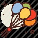 balloons, carnival, circus, disney icon
