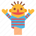 puppet, curtains, show, entertainment, stage icon