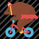 animal, bear, carnival, circus, zoo icon