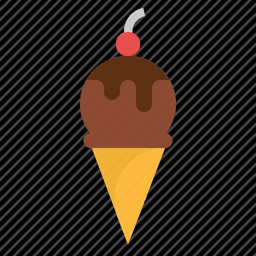 cream, dessert, food, ice, sweet icon