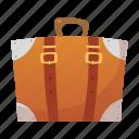 bag, baggage, luggage, suitcase, tourism, transportation, travel icon