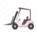 airport, car, loader, machine, machinery, transport, vehicle icon