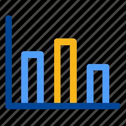 analytics, bar, chart, graph, histogram, proportion, statistics icon