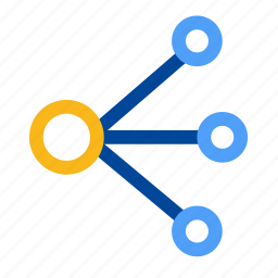 affiliate, cloud, communication, connection, links, network, viral icon