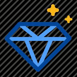 diamond, engage, highest, jewel, precious, valuable, worthy icon