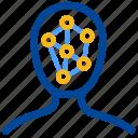 analyst, analyze, brilliant, clever, intelligent, processor, analysis icon