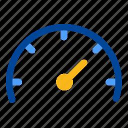 gauge, guage, measure, measurement, meter, performance, speed icon