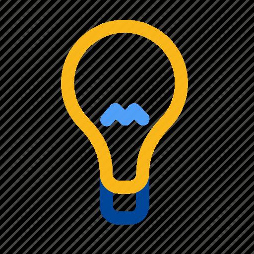 electricity, energy, idea, lamp, light, lightbulb, wise icon