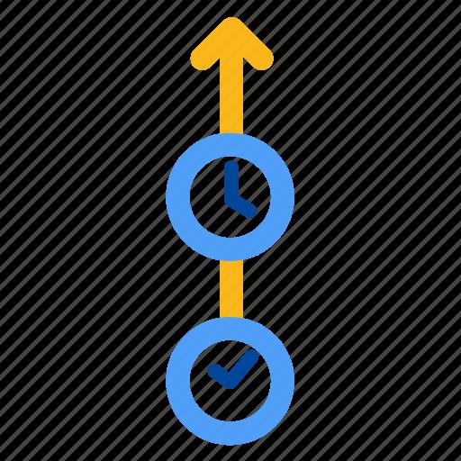deadline, ot, overtime, range, schdule, time, timeline icon