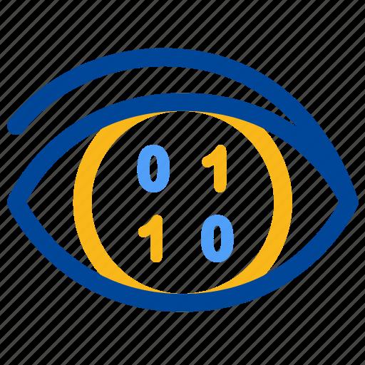 analysis, analytics, analyze, compose, hacker, identify, visualization icon