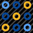 code, codification, format, pattern, password, dot matrix, dots