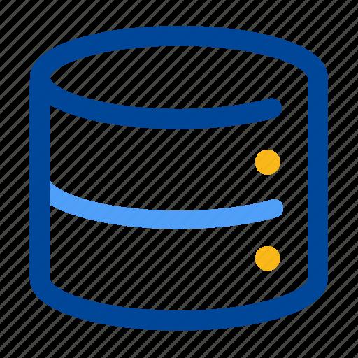 data, database, files, raw data, server, source, storage icon