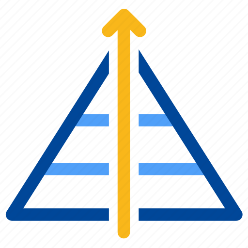 business, chart, elite, hierachy, peak, pyramid, top icon