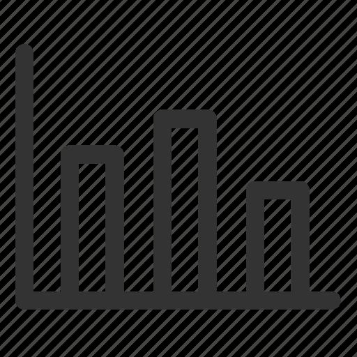 analytics, bar, chart, diagram, histogram, proportion, statistics icon
