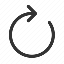 redo, refresh, reload, resumption, sync, undo, update icon