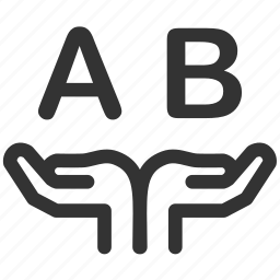 ab test, compare, comparison, experiment, measurement, parallel, test icon