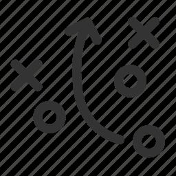 analytics, plan, plot, problem, solve, strategy, tactics icon