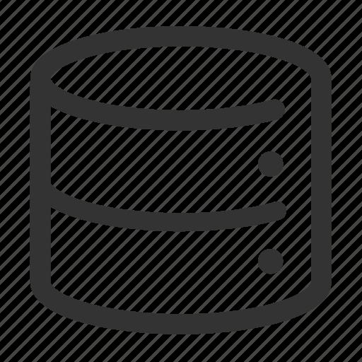 analytics, data, database, files, memory, server, storage icon