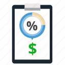 analytics, business, chart, diagram, discount, price, store icon