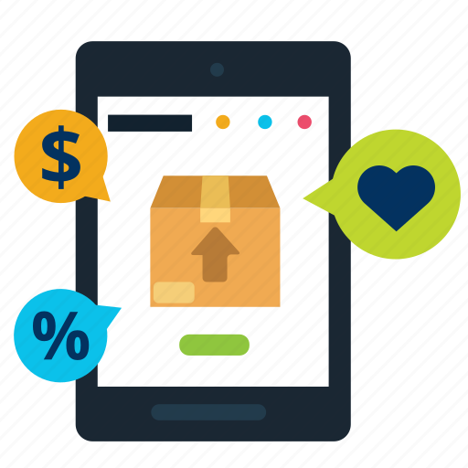 box, business, discount, like, online, price, store icon
