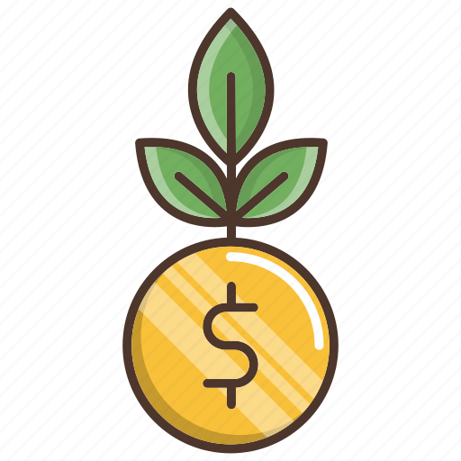 business, growth, investments, money icon