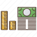 bundle, business, income, investments icon