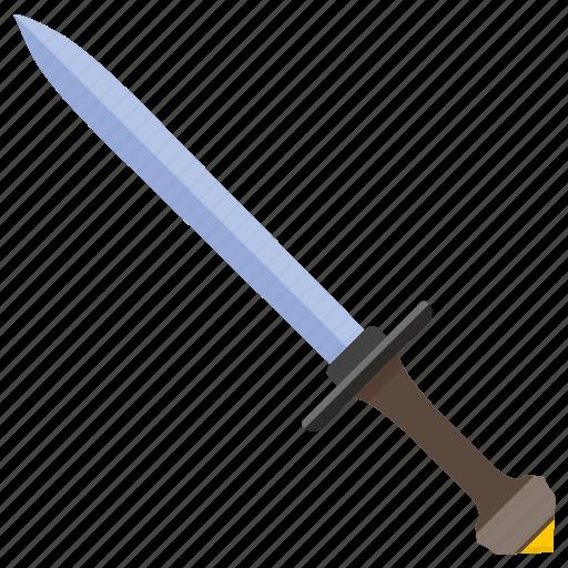 armor, army, blade, roman, sword, weapon icon