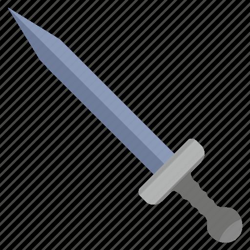 army, blade, roman, sword, weapon icon